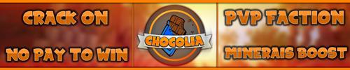 Serveur Minecraft Chocolia