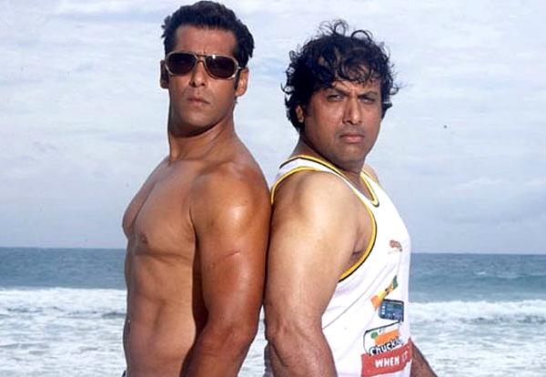 Salman Khan et Govinda dans Partner