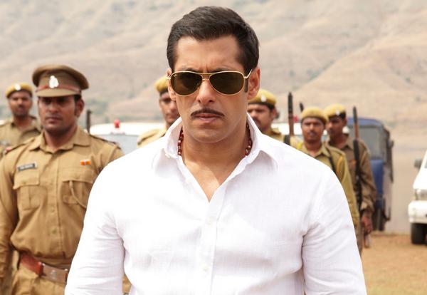 Salman Khan dans le film Dabangg<