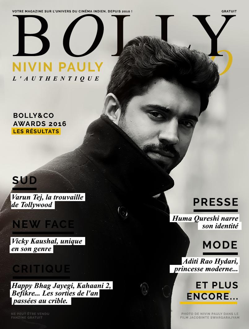 Magazine cinéma indien avec acteur Nivin Pauly Sud Inde