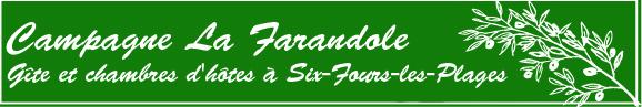 Campagne La Farandole CHambres D'hote a Six-Fours