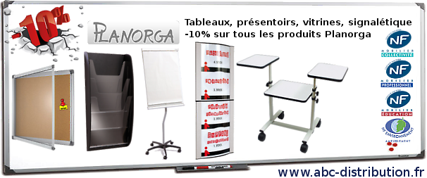 allo image promotion planorga tableau affichage liege bureau blanc vert emaille vitrine abc. Black Bedroom Furniture Sets. Home Design Ideas