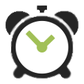 Alarm clock time icon 18